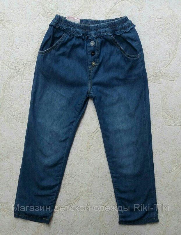 Осенние джинсы для девочки