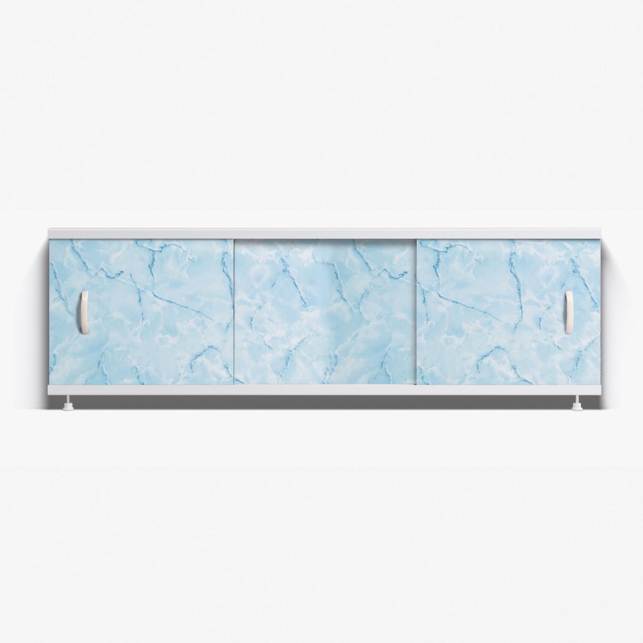 Панель для ванны Alavann Престиж 1.5 м  //  30-голубой мрамор