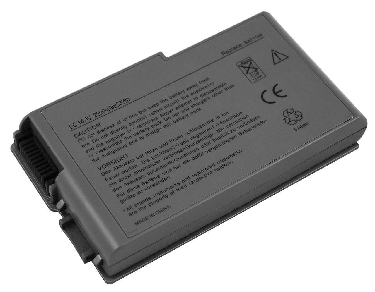 Аккумулятор для ноутбука Dell TYPE W1605