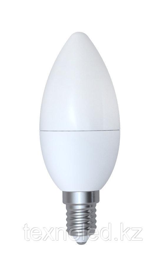 Светодиодная лампа свечаЕ14/6W3000K,4200K,6000K