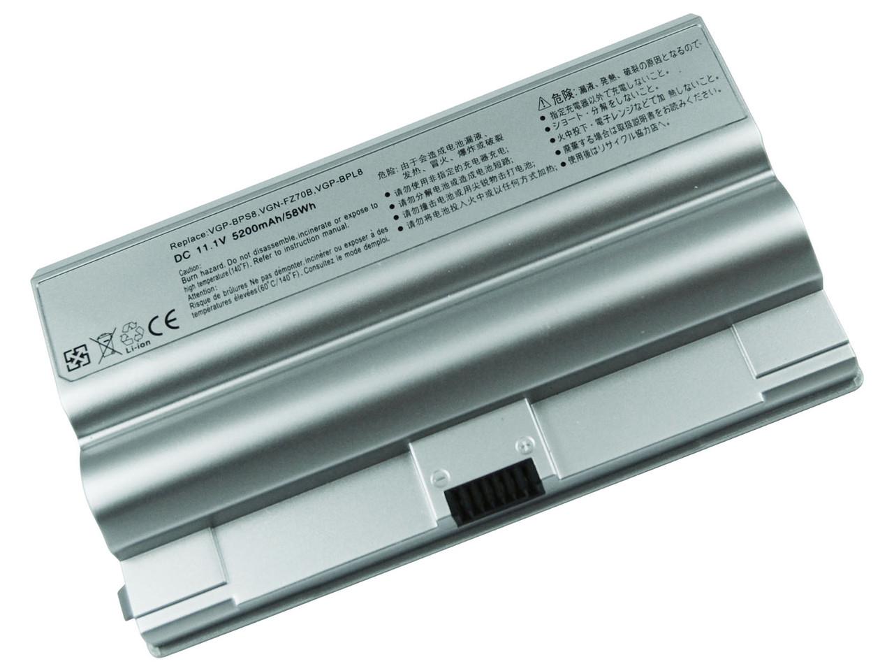Аккумулятор для ноутбука Sony VGP-BPS8