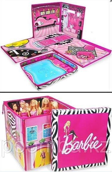 Складная коробка для кукол Барби, складной домик Барби - фото 1