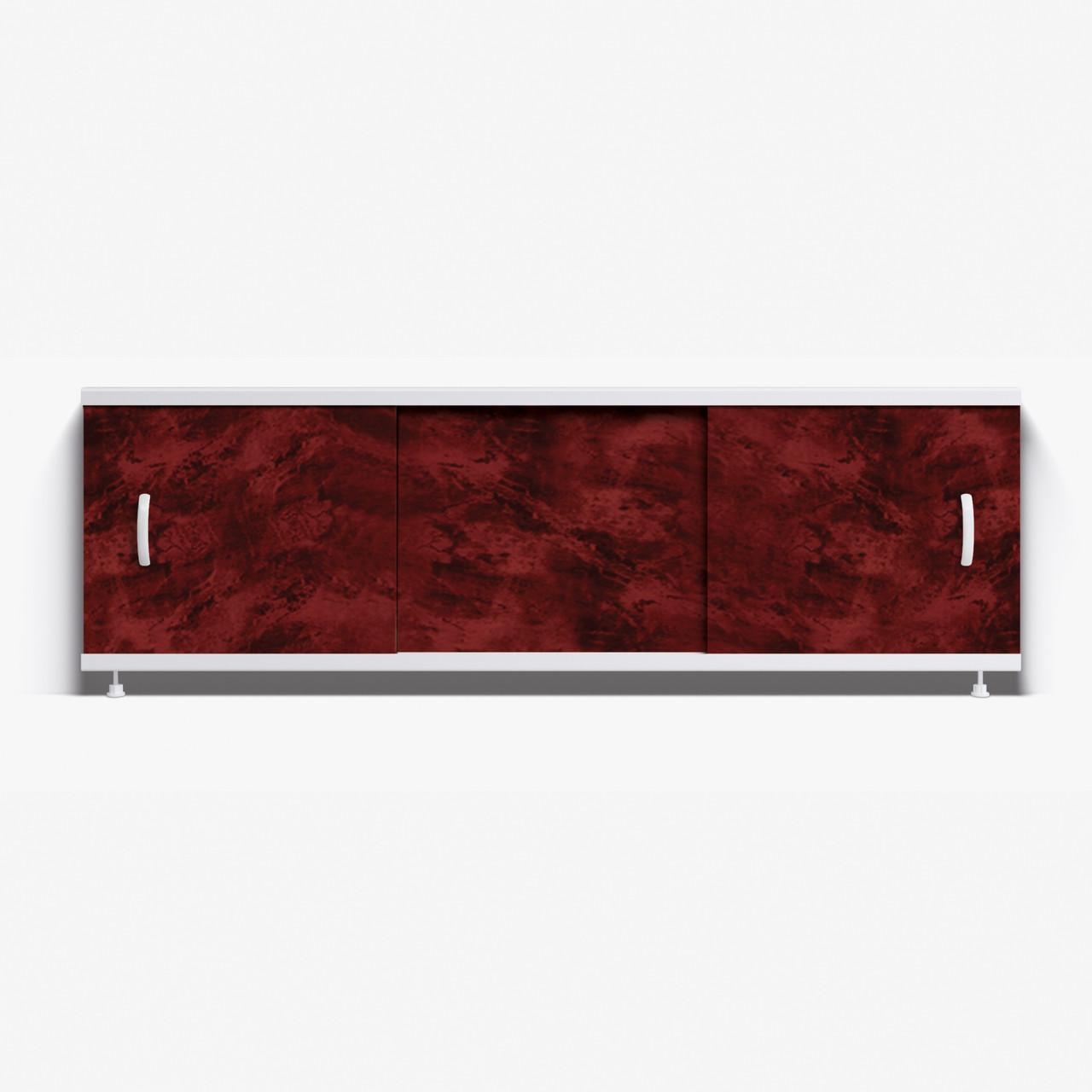 Панель для ванны Alavann Престиж 1.7 м   НП // 1Н- бордовый малахит