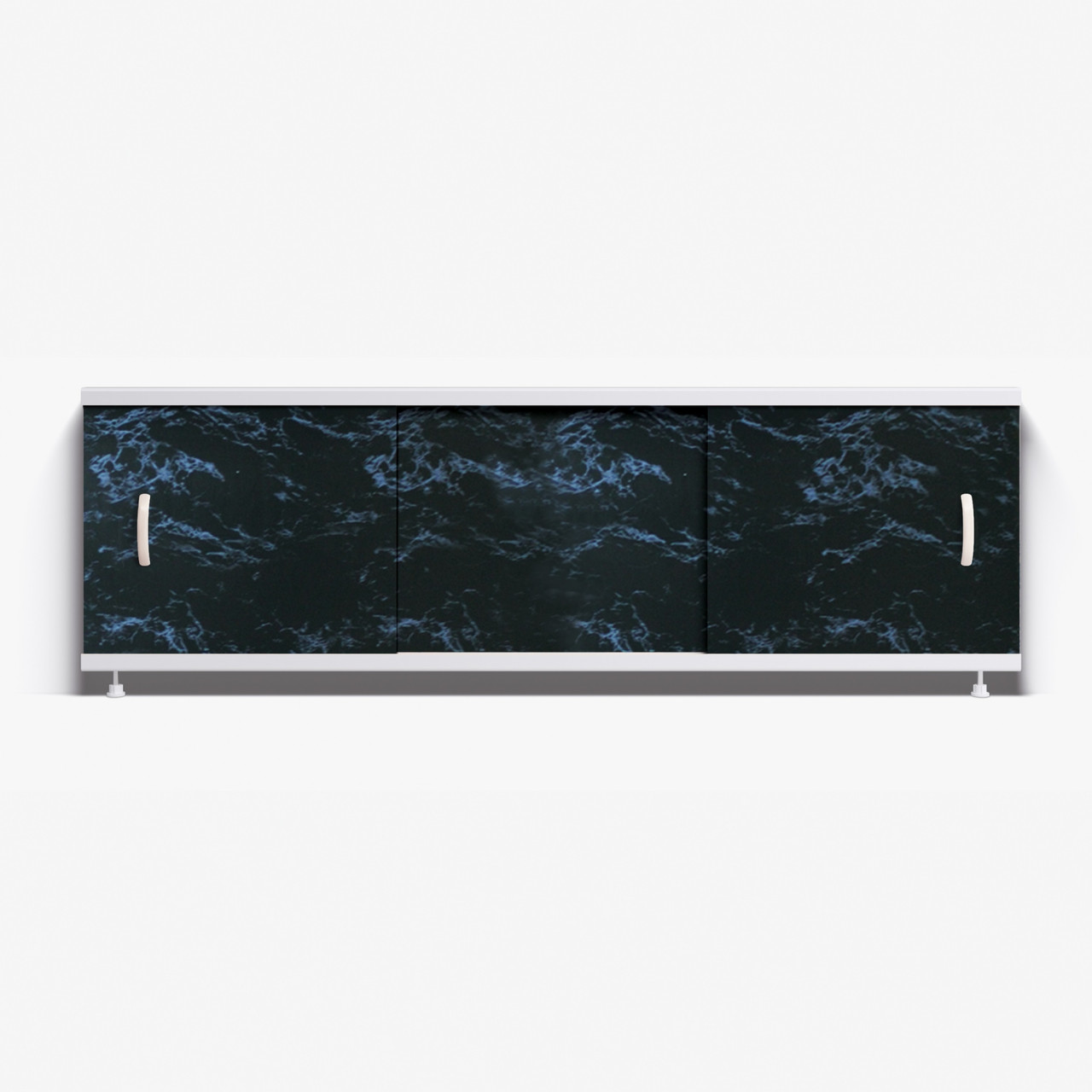 Панель для ванны Alavann Престиж 1.7 м   // 25 черный мрамор