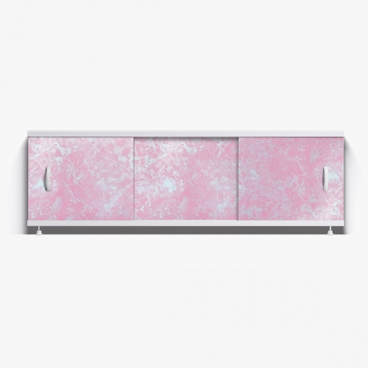 Панель для ванны Alavann ОПТИМА 1.5 м  // 1 светло-розовый мрамор