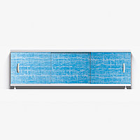 Панель для ванны Alavann ОПТИМА 1.5 м  // 32 голубая волна