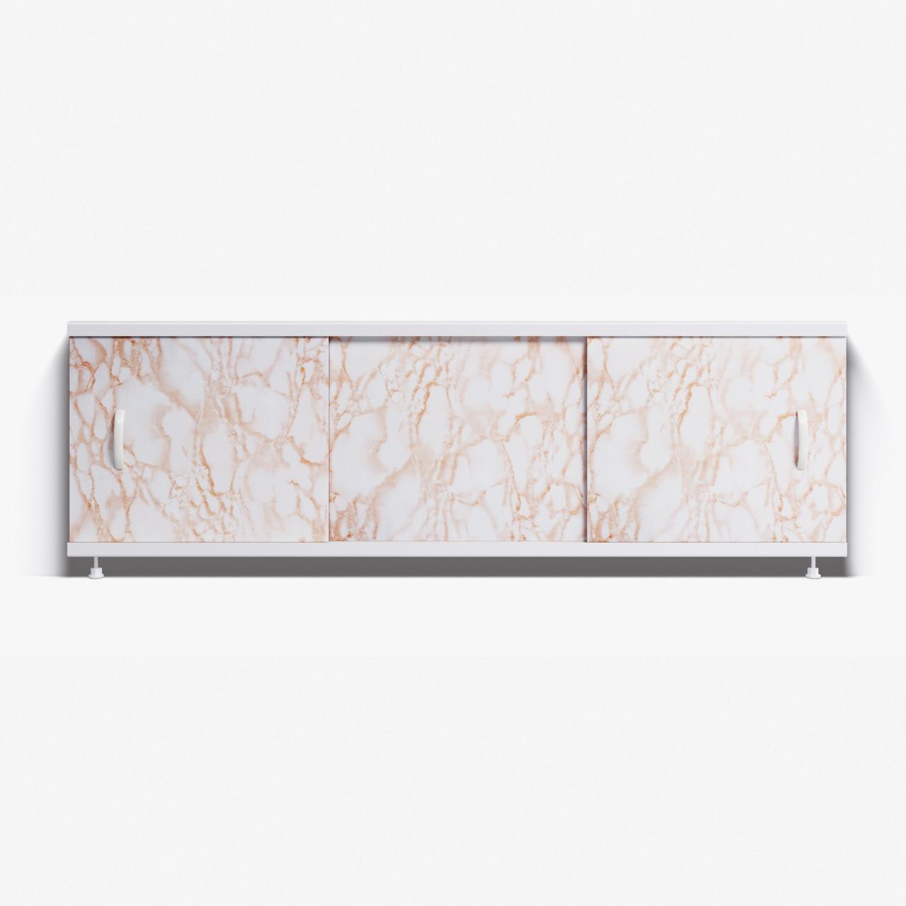 Панель для ванны Alavann ОПТИМА 1.7 м  //  2 кремовый мрамор