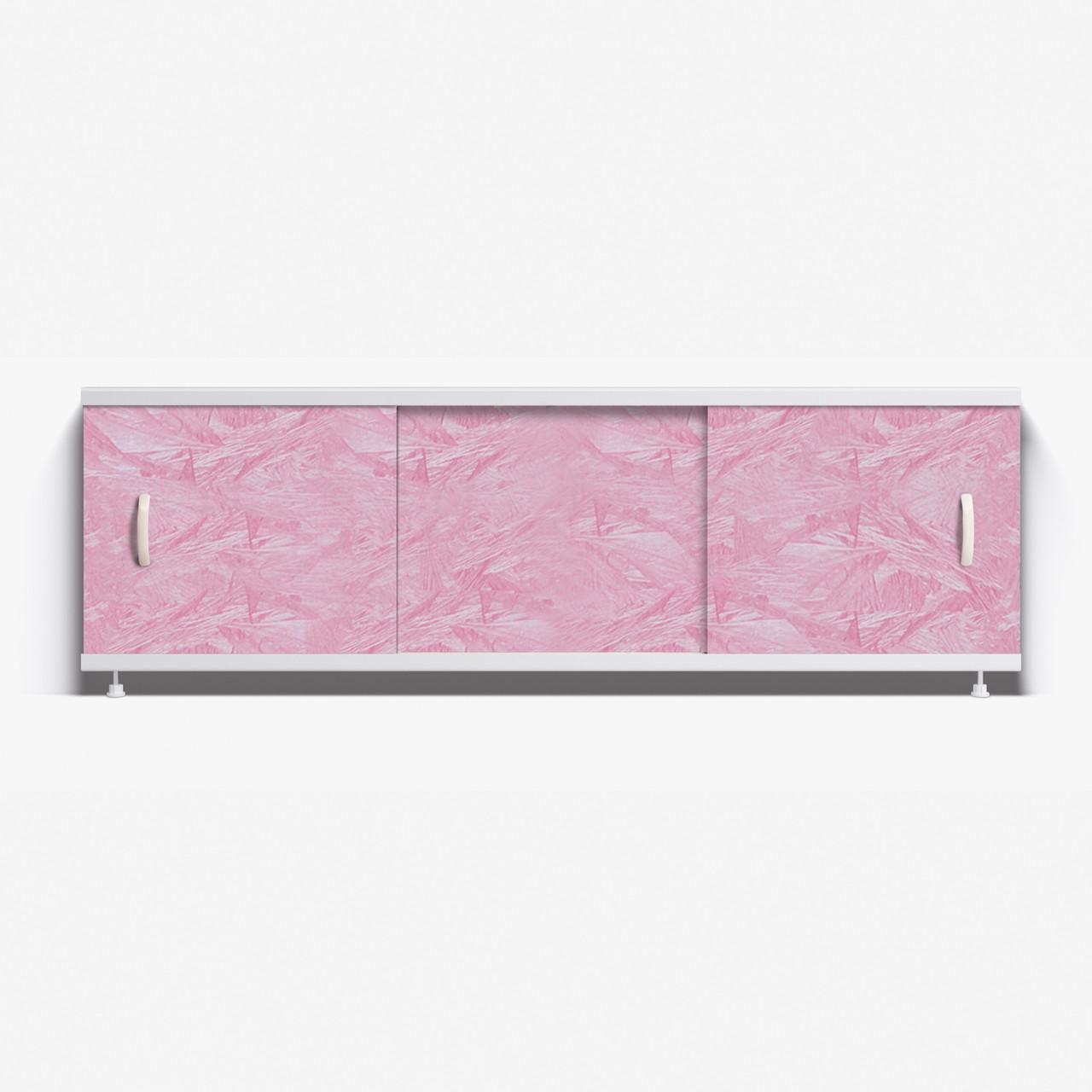 Панель для ванны Alavann ОПТИМА 1.7 м  // 37 розовый мороз