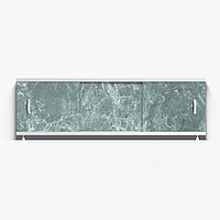 Панель для ванны Alavann ОПТИМА 1.7 м  // 8 темно-зеленый мрамор