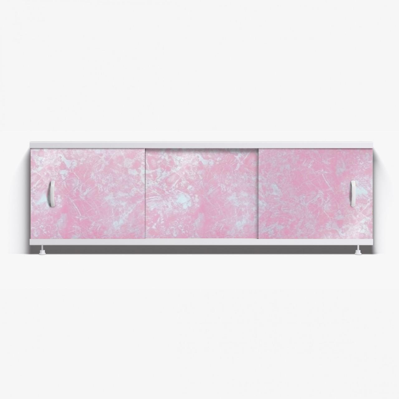 Панель для ванны Alavann ОПТИМА 1.7 м  // 1 светло- розовый мрамор