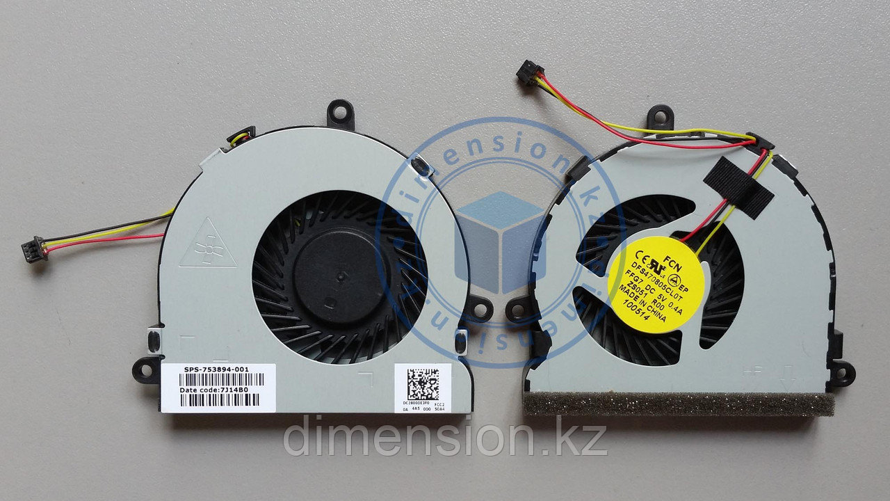 Кулер, вентилятор HP 15 G series DELL 5521 5537 5721 5737 3540