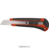 Нож, 18 мм, выдвижное лезвие, металлическая направляющая