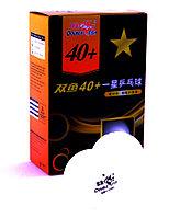 Шарик теннисный DOUBLE FISH 40+, профессиональная серия (6 шт в упаковке)