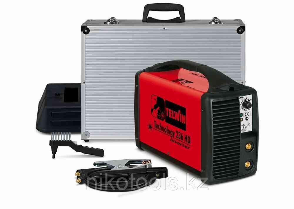 Сварочный инвертор TELWIN Technology 236 HD case