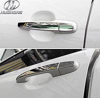 Хром на ручки дверей Corolla 2009-13, фото 1