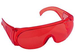 """Очки защитные, красные Stayer """"Standard"""""""