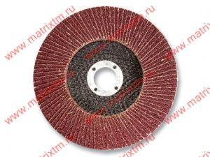 Круг лепестковый торцевой, P 60, 115 x 22,2 мм