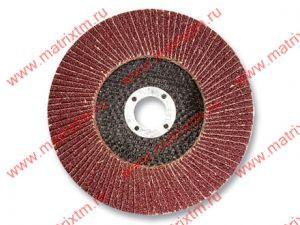 Круг лепестковый торцевой, P 60, 150 x 22,2 мм