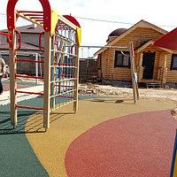 Тартановое покрытие для детских, спортивных площадок