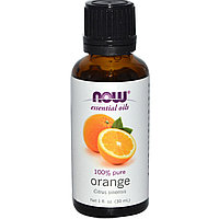 Эфирное масло, апельсин, (30 мл). Now Foods