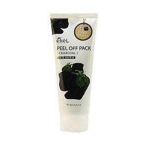 Ekel Charcoal Peel Off Pack Маска-пленка для очищения пор и избавления от прыщей с древесным углем 180 мл