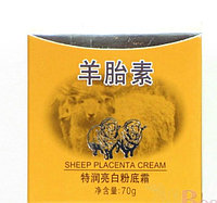 Крем на основе овечьей плаценты тональным эффектом