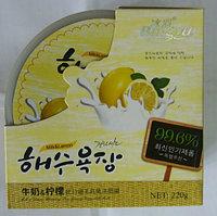 Увлажняющая тонизирующая маска «Лимон + молоко»