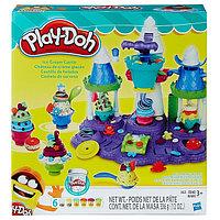 """Игровой набор пластилинаPLAY-DOH B5523 Игровой набор """"Замок мороженого"""" PLAY-DOH, фото 1"""