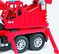 Bruder MAN Fire engine crane truck. КРАН  ПОЖАРНЫЙ, фото 4