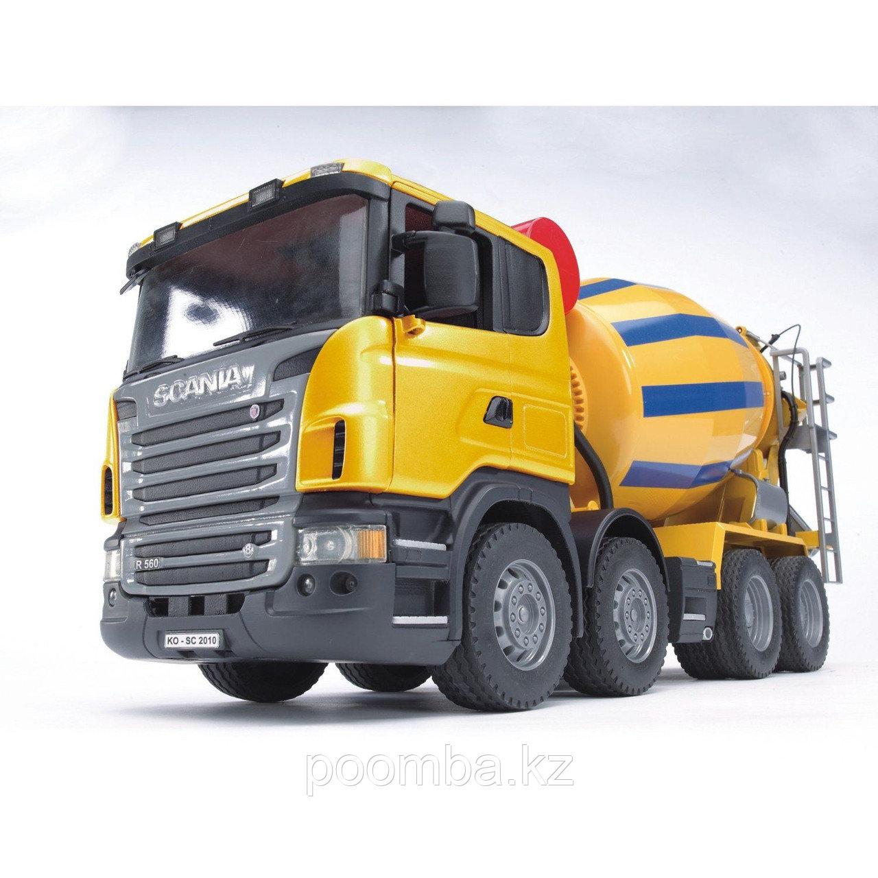 Bruder Scania R-Series Cement Mixer Truck МИКСЕР,  Бетономешалка