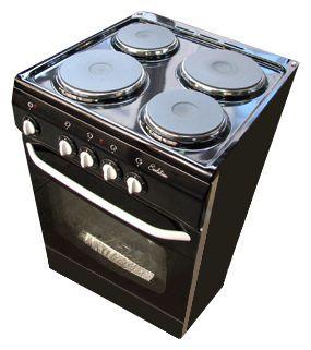 Электрическая плита DE LUXE 5004.12 э черн