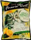 Fussie Cat комкующийся наполнитель с ароматом лимона - 10 л (8,1кг)