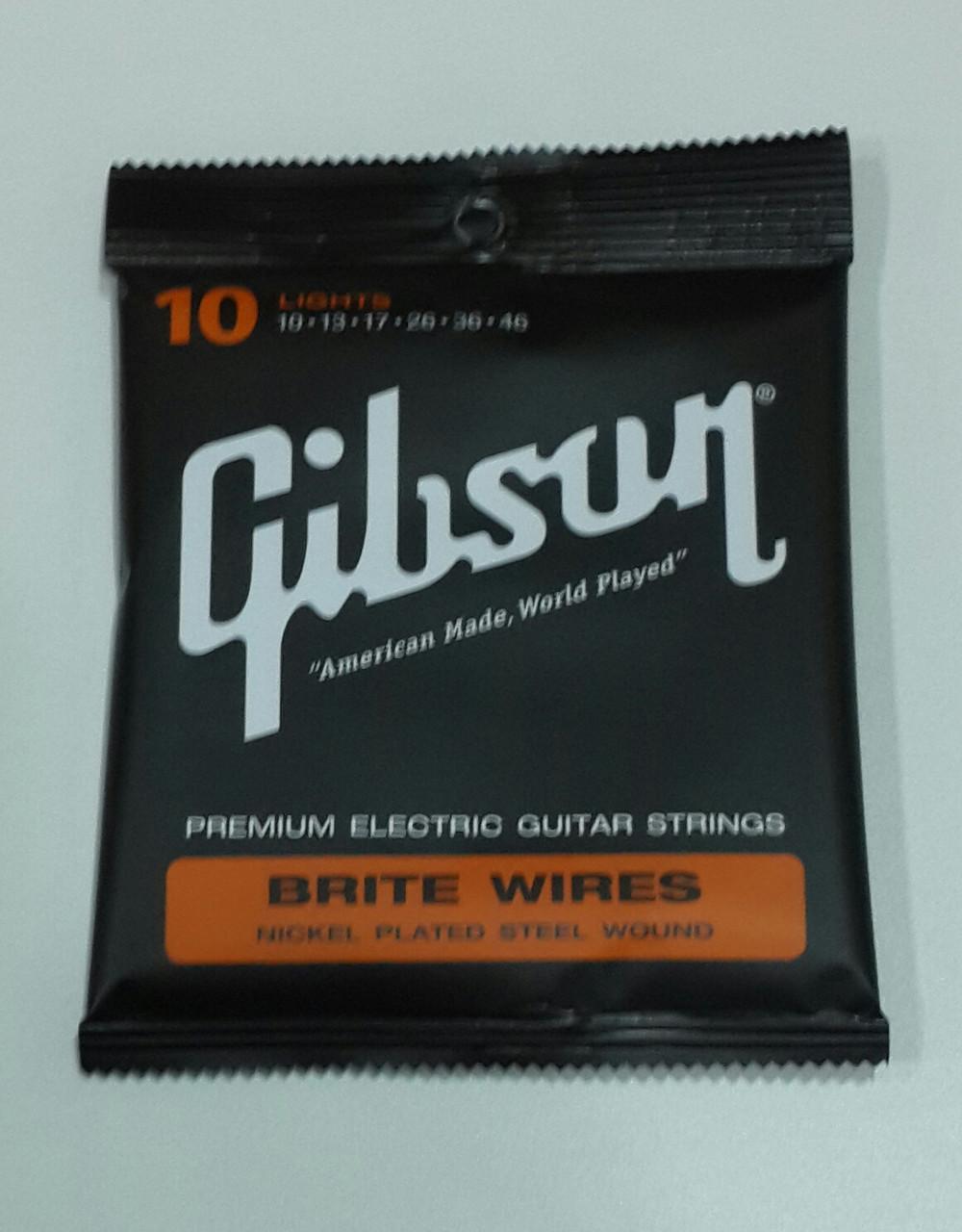 Струны для электрогитары Gibson electric SEG-700L