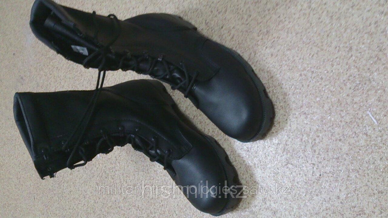 Ботинки армейские с высоким берцем НАТО, искуственный мех