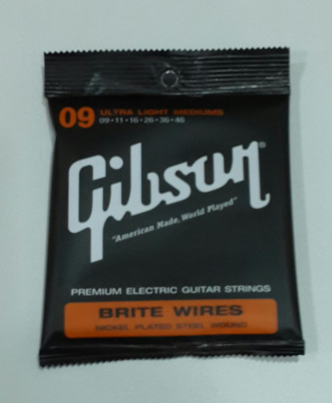 Струны для электрогитары Gibson Electric SEG-700ULMC