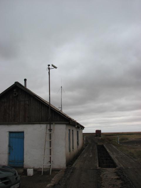 IP-камеры Beward BD4330, установленные на весовой