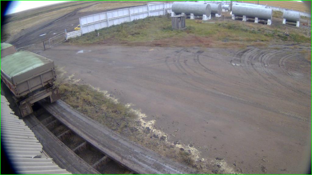 Изображение с IP-камеры Beward BD4330D, установленной на весовой.