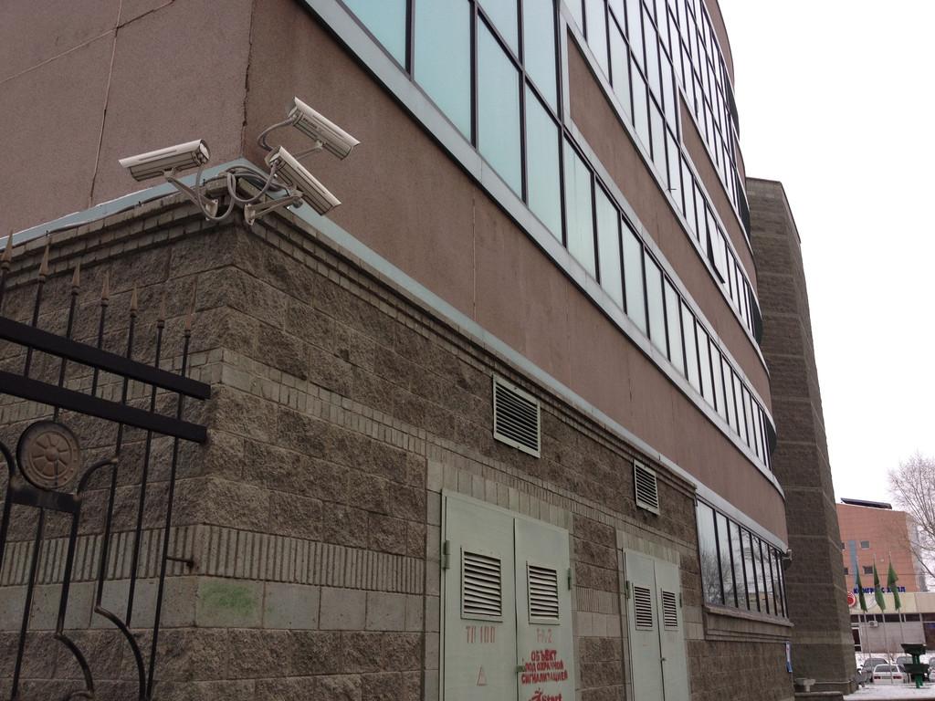 Система IP-видеонаблюдения ТОО НИПИ Астанагенплан, с использованием IP камер BEWARD и программного комплекса MACROSCOP 1
