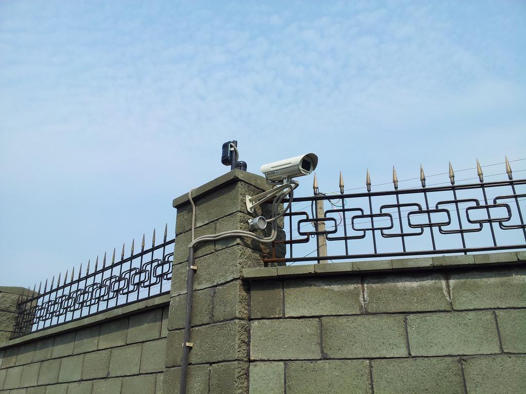 Система IP-видеонаблюдения на частном объекте 1