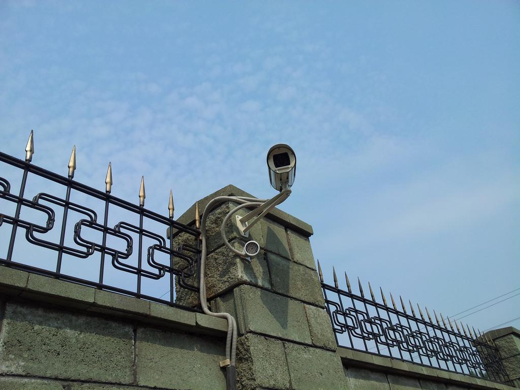 Система IP-видеонаблюдения на частном объекте 2