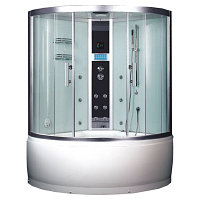 Душевая кабина EAGO DA325F3 с баней (1350*1350*2250 мм)