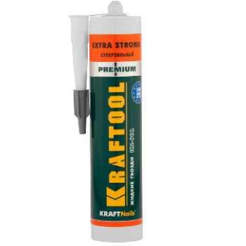 Клей монтажный KRAFTOOL KraftNails Premium KN-901, сверхсильный универсальный, для наружных и внутренних работ