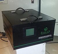 Стабилизатор напряжения элекромеханический однофазный  ECOLUX ACH-8000/1-ЭМ