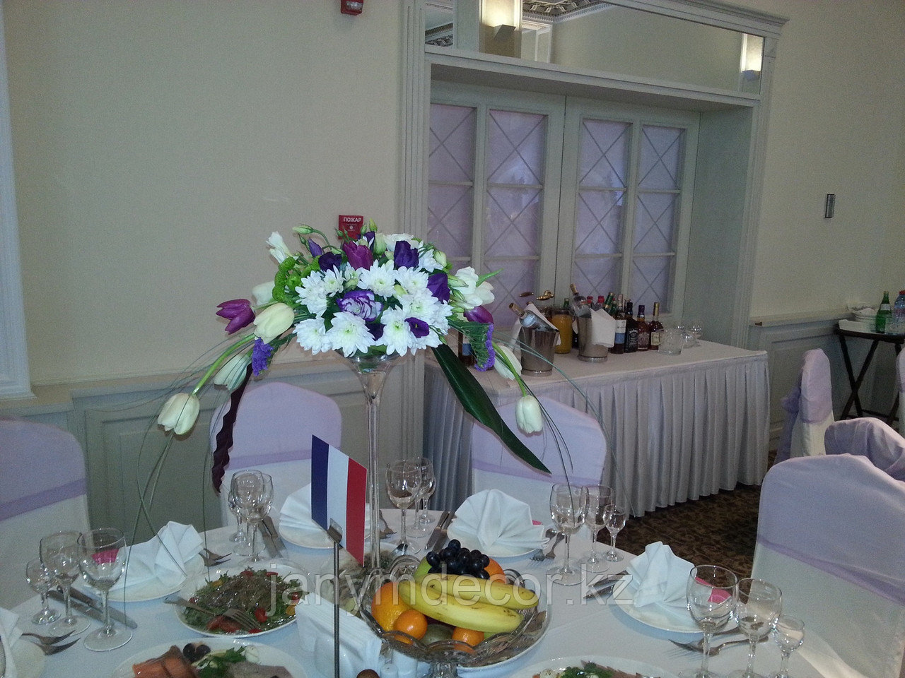 Оформление живыми цветами в Алматы - фото 5