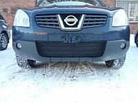 Защита радиатора Nissan Qashqai 2006-2010 black