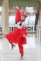 Пошив казахских танцевальных коротких платьев укороченный вариант