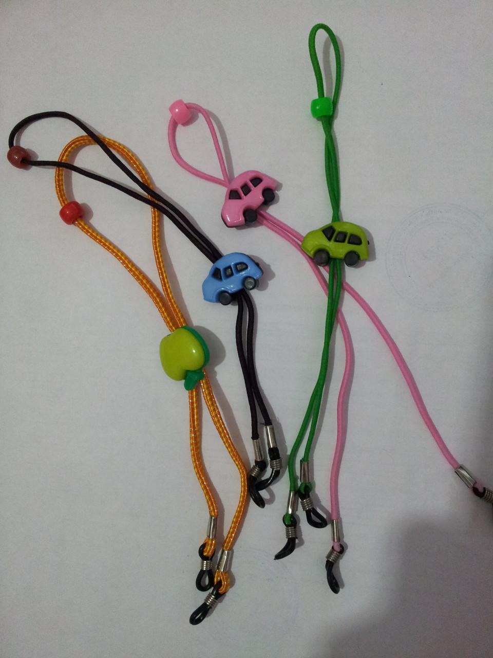 Шнурок для очков детский с ограничителем по голове - фото 2