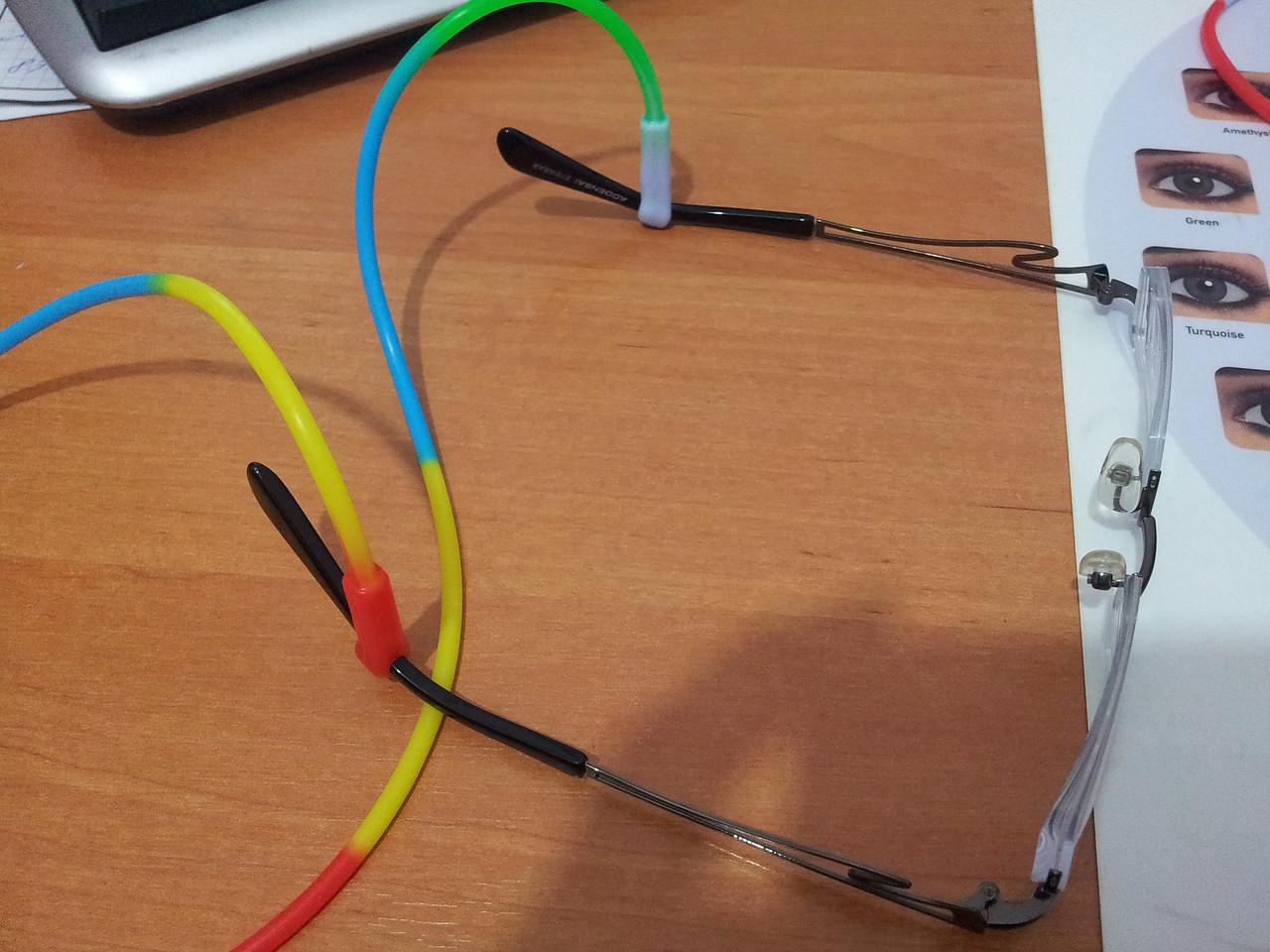 Шнурок силиконовый для очков - фото 4