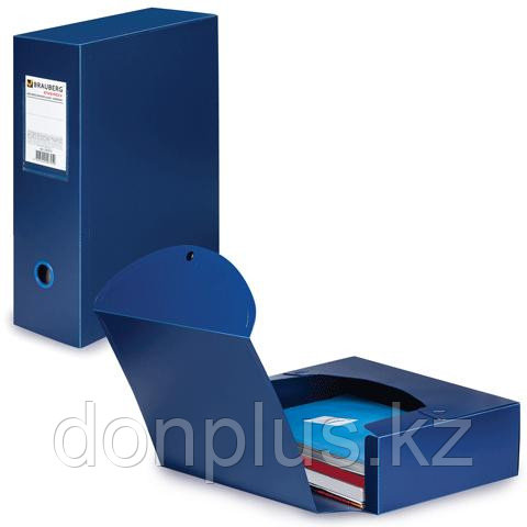 Архивная коробка, А4, пластик 100 мм