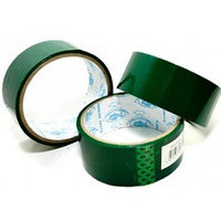 Скотч зеленого цвета 3,5 см x 0,3 см